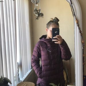 The Northface down jacket size S